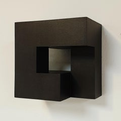 Carré architectural II no. 4/15 - contemporary modern abstract wall sculpture