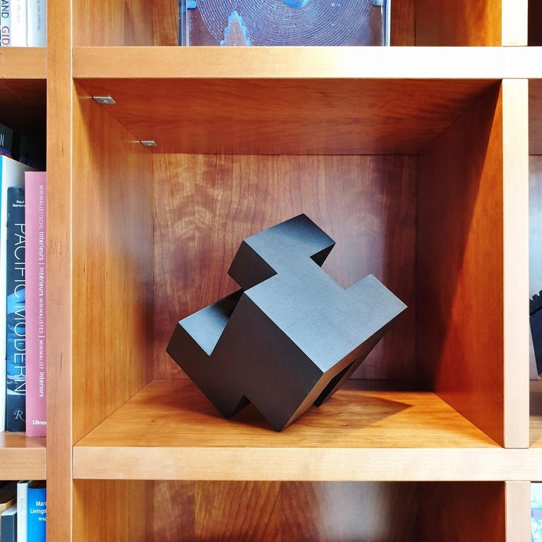 Cube architectural I no. 3/15 - contemporary modern abstract wall sculpture - Sculpture by Olivier Julia