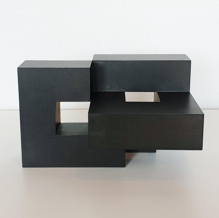 Olivier Julia Abstract Sculpture - Equilibre architectural I no. 1/15 - contemporary modern abstract wall sculpture