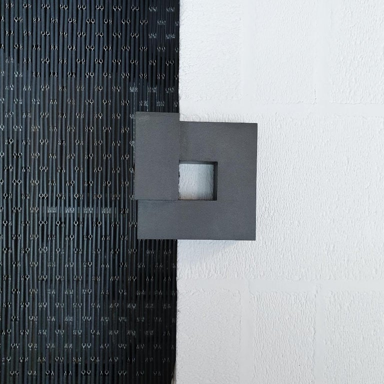 Carré architectural VI no. 14/15 - contemporary modern abstract wall sculpture - Sculpture by Olivier Julia