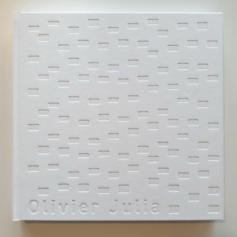 Juxtaposition II - contemporary modern geometric sculpture painting panel For Sale 1