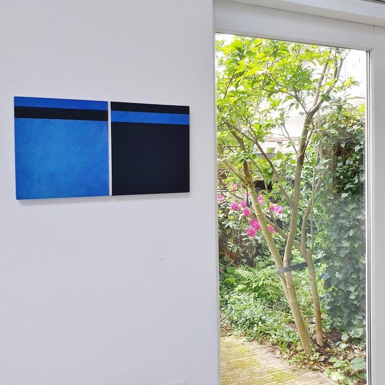 Juxtaposition II - contemporary modern geometric sculpture painting panel - Sculpture by Olivier Julia