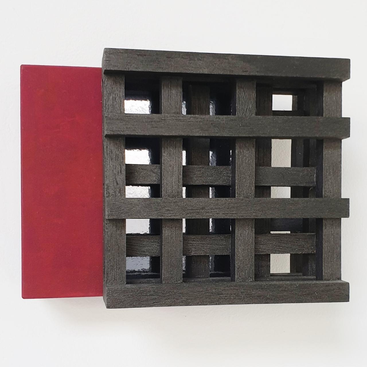 Contraste V no. 13/50 - contemporary modern geometric sculpture painting relief