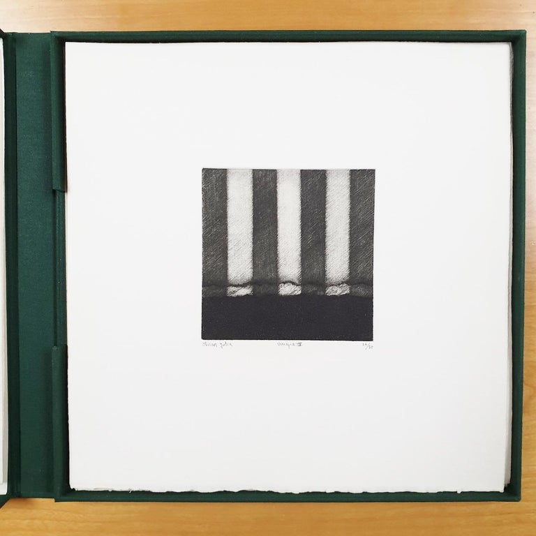 Venice  14/50 - collectors box with ten black-white etching aquatint prints  For Sale 5