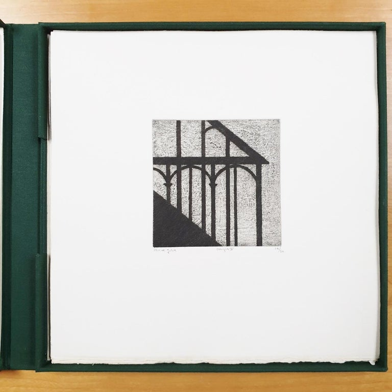 Venice  14/50 - collectors box with ten black-white etching aquatint prints  For Sale 7