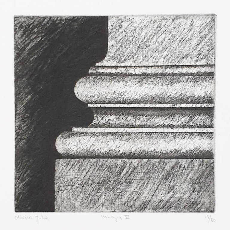 Venice  14/50 - collectors box with ten black-white etching aquatint prints  For Sale 9