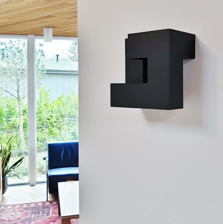Carré architectural III no. 4/15 - contemporary modern abstract wall sculpture - Sculpture by Olivier Julia