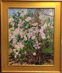 Cascading Roses, original contemporary landscape
