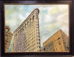 Flatiron, New York City, original 30x40 contemporary landscape