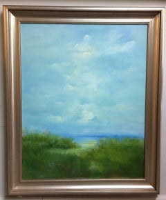 Soft Summer Light, original contemporary landscape