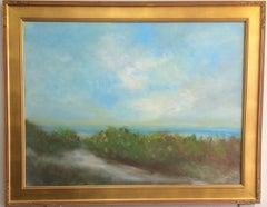 Path to the Sea, original 30x40 contemporary landscape