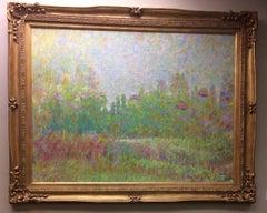 Eternal Spring, original 30x40 French Impressionist landscape