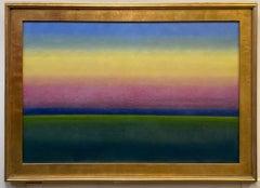 Summer Sunrise, original 24x36 abstract landscape