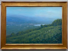 Highpoint Lake, original 24x36 impressionist landscape