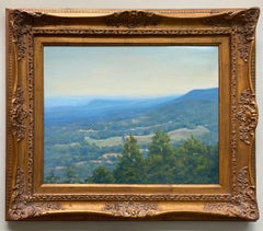 Early Morning Highpoint, original impressionist landscape