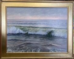 Morning Blush, original 30x40 contemporary marine landscape