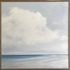 Seascape No. 174-AL, original 48 x 48 contemporary marine landscape