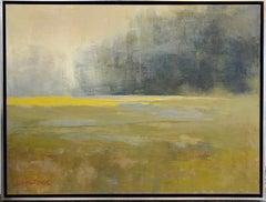 Atonal, original 30x40  transitional abstract landscape