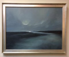Moon Rise, original contemporary landscape