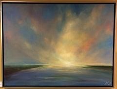 Sense of Being, original 30x40 contemporary marine landscape