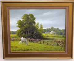 Horse Country, original realistic landscape
