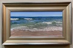 Beautiful Beach Day, original contemporary marine landscape