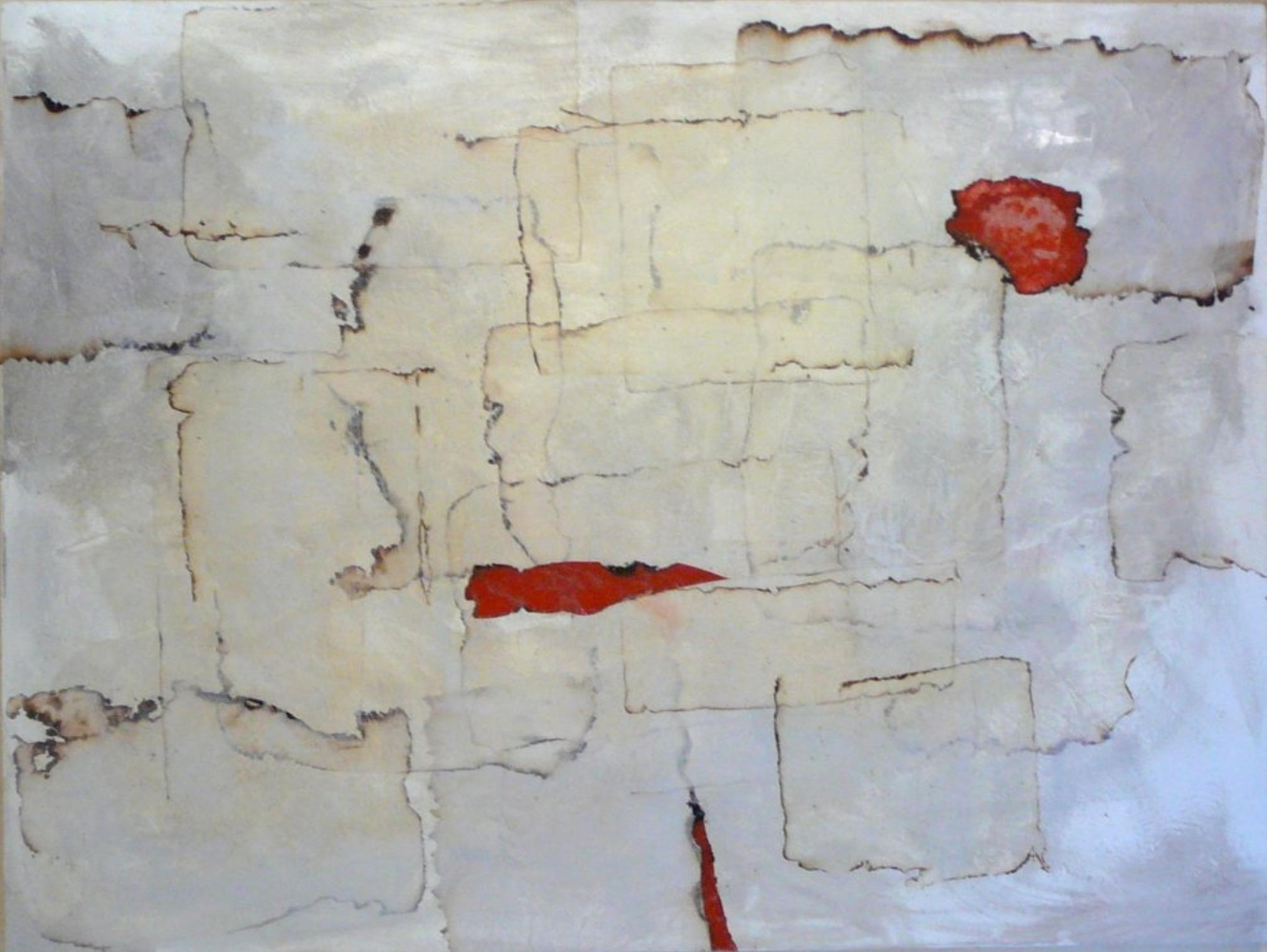 Clarity by Louis Shields, Abstract Mixed Media on Canvas, 2010