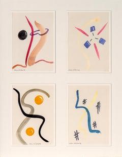 Achim Duchow -  Composition of Modern Impressionist Works