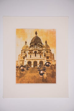 Church of the Sacre Coeur in Paris - Samuel Buri, 1971, Lithograph, Modern