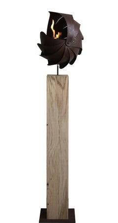 Ammon Firebowl  - Contemporary Sculpture Large