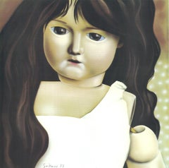 The Doll - Günter Gritzner - Color Offset Lithograph - 1973