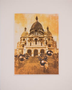 Samuel Buri - Church of the Sacre Coeur in Paris -  1971, Lithograph, Modern