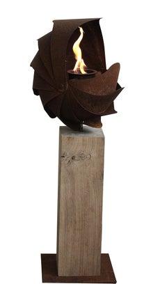 Ammon Firebowl - Contemporary Sculpture Small
