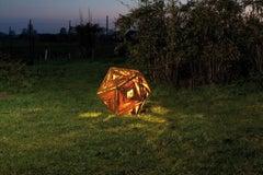 "Outdoor Lamp - ""Ikosaeder"" - contemporary indoor and garden ornament"