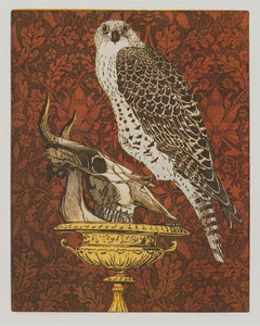"""Goshawk Bird"" - Interior of an Ecologist - Annemarie Petri"