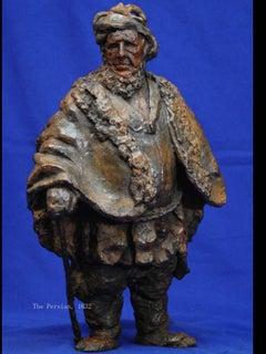 "Rembrandt in Bronze - ""The Persian"" - Unique Etching Sculpture"