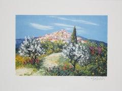 "Marcel Belvisi - ""Way to mountain village"""
