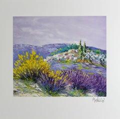 """Marcel Belvisi - """"Broom and Lavender"""""""