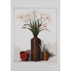 "Miguel Herrera - ""Still Life With Flowers"""