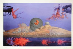 """Wolfgang Hutter - """"The first stars and the sky of the Aphrodite"""" - Giclée Print"""