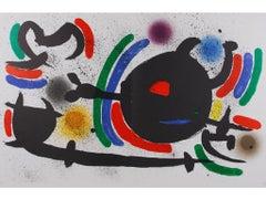 "Joan Miró - ""Litografia Original X"" - surrealistic lithography, spanish edition"