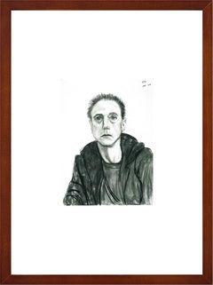 """David Hockney - """"Maurice Payne, October 9"""" - framed art print"""