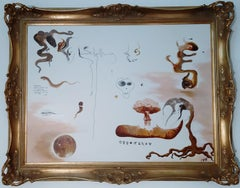 """Chroessi Schnell - """"Creation and Release"""" - surrealist abstract forms of a dream"""