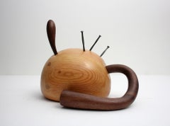3 Nails, organic sculpture in wood