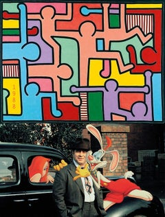 1988, Who Framed Roger Rabbit - Keith Haring, Untitled, 2018