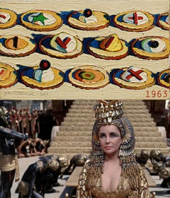 1963, Cleopatra - Wayne Thiebaud, Hors d'Oeuvres