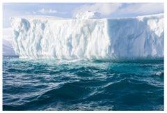 Fragile Elements 9, Antarctic icebergs landscape photograph