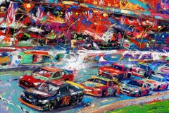 The Great American Race - Original oil on canvas painting by Blend Cota