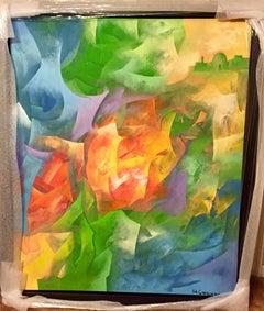 Genesis I - Original oil on canvas painting by Eduard Grossman