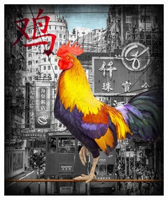 The Golden Rooster - Limited Edition of 25 - Fine Art Print - coated by epoxy
